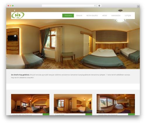Hoteliour WordPress theme - sisotel.com