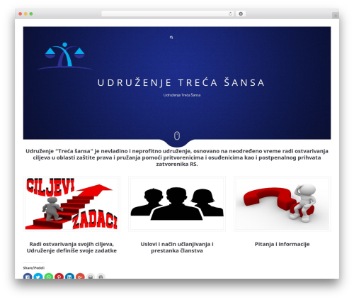WordPress theme Narcos - trecasansa.org