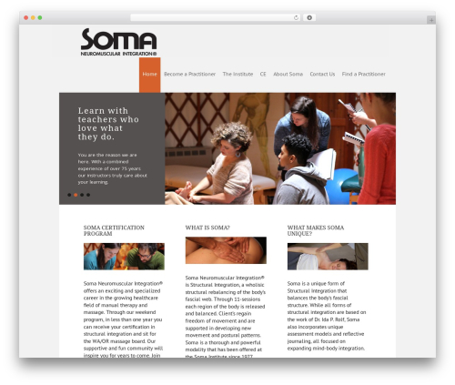 WP template Executive Child Theme - soma-institute.org