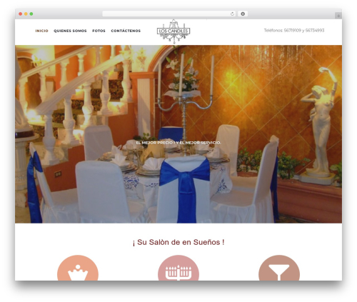 Activello free WordPress theme - salonloscandiles.com.mx