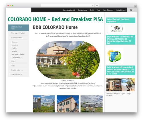 Best WordPress template SmartAdapt - coloradohome.it