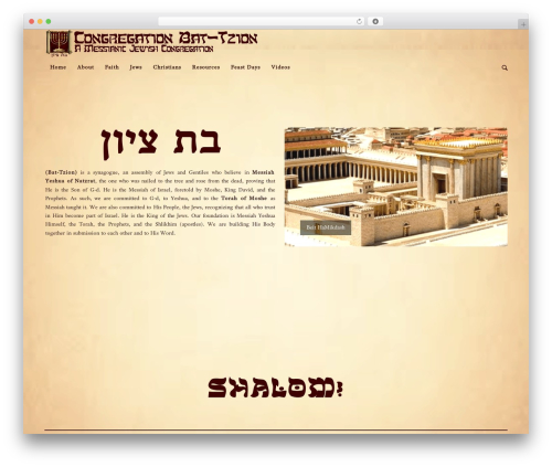 Enfold top WordPress theme - battzion.org