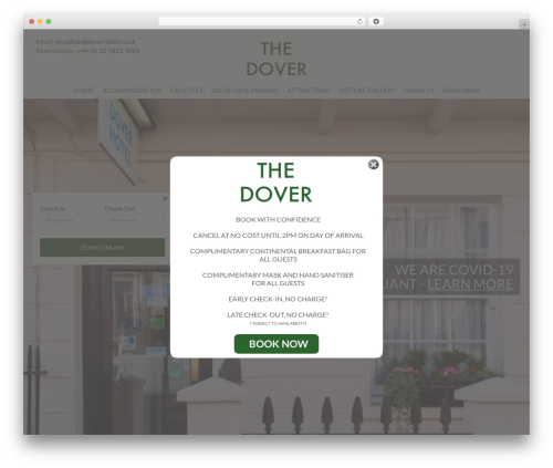Reymar WordPress theme - dover-hotel.co.uk