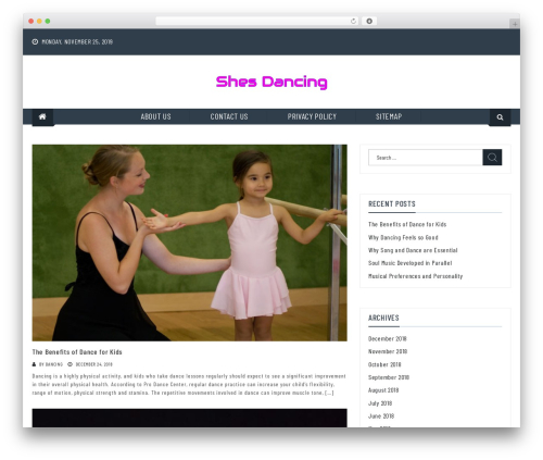 RT Magazine WP template - shes-dancing.org