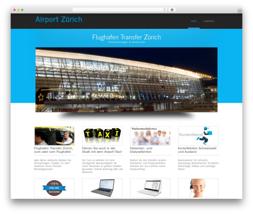Simplicity Lite WP template - airport-taxi.us