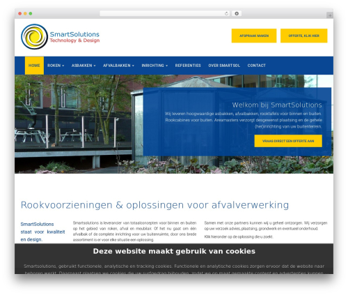 WP theme Oncourse - smartsol.nl