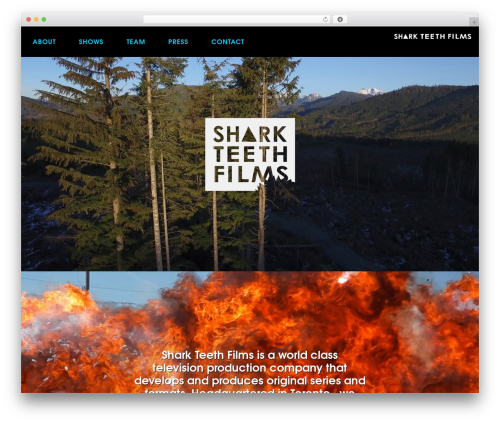 WP theme Oshin (shared on wplocker.com) - sharkteethfilms.com
