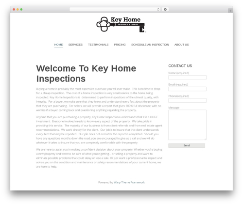 Best WordPress theme Chester - keyhomeinspections.net