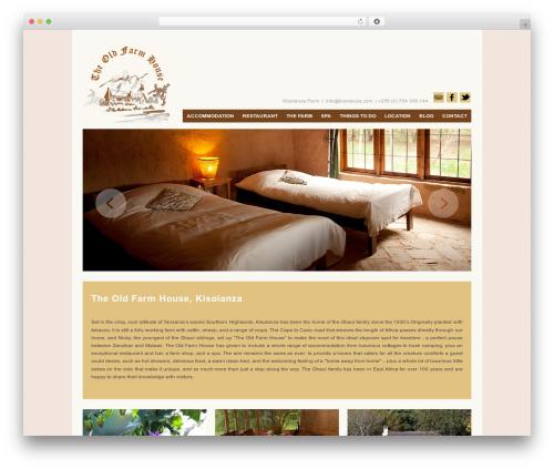 Vimes WordPress theme design - kisolanza.com