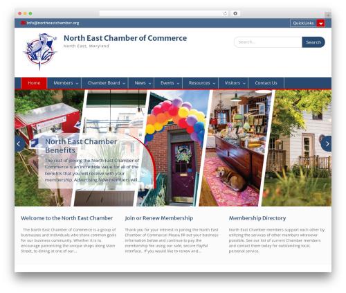 WordPress website template Education Hub - northeastchamber.org