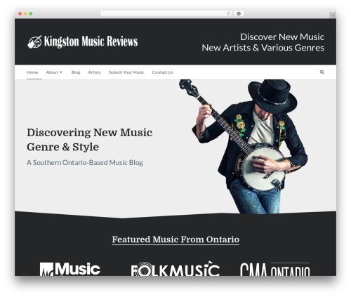 Writer by MyThemeShop best WooCommerce theme - kingstonmusicreviews.ca