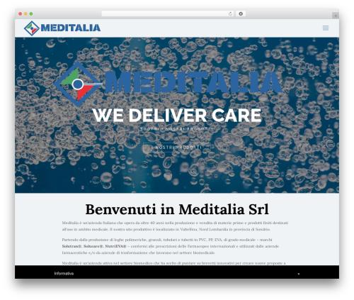 Betheme medical WordPress theme - meditaliasrl.com