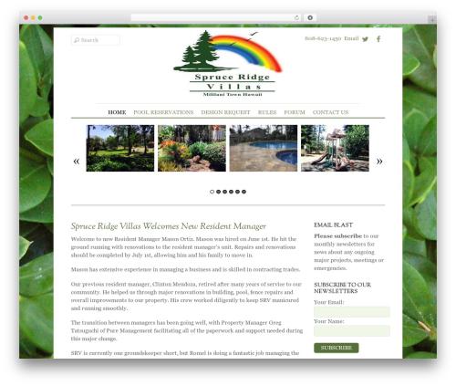 Elemin WordPress theme - spruceridgevillasmililani.com
