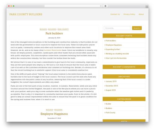 WordPress theme Di Responsive - parkercounty-builders.com