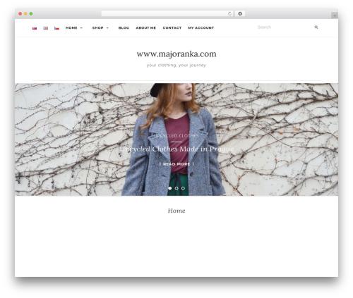 Best WordPress template Activello - majoranka.com