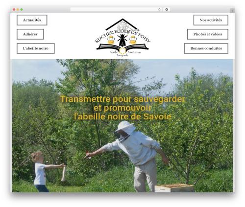 Kindergarten Education WordPress theme - rucherecoledepoisy.fr