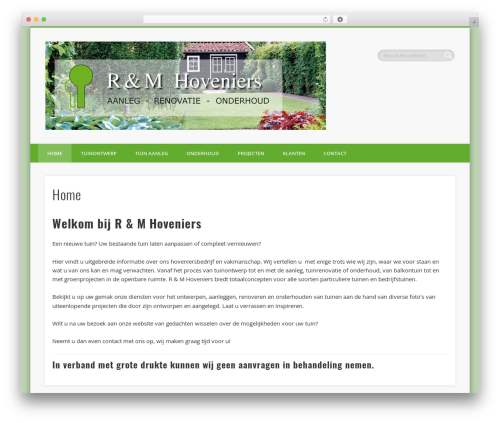 Pinboard WP theme - vakhoveniers.nl