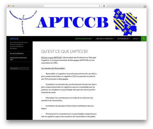 Twenty Fourteen theme WordPress - aptccb.fr