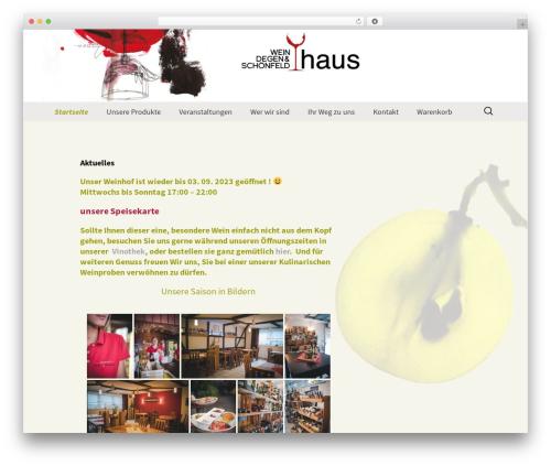 Twenty Thirteen WordPress theme download - schoenfelds-genusswelt.de