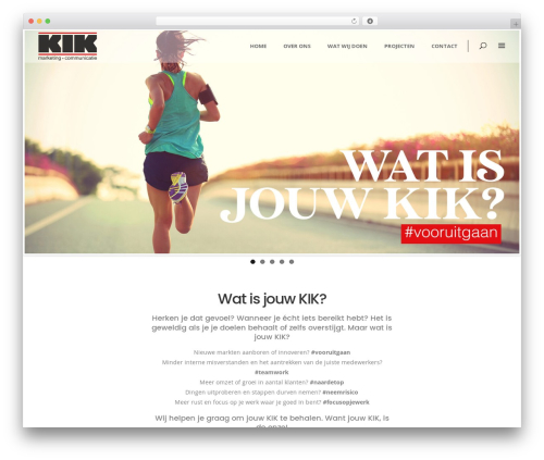 Averly theme WordPress - kikmc.nl