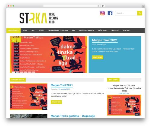 Merlin theme WordPress - ttk-strka.hr