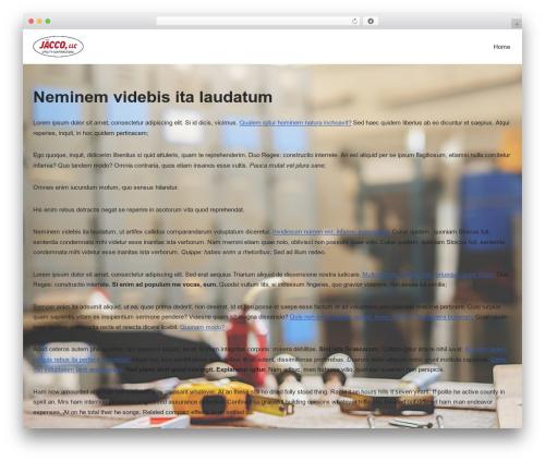 Neve WordPress theme - jacco-llc.com