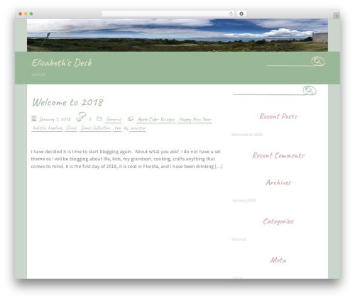 WordPress theme Handdrawn-lite - elizabethsdesk.com