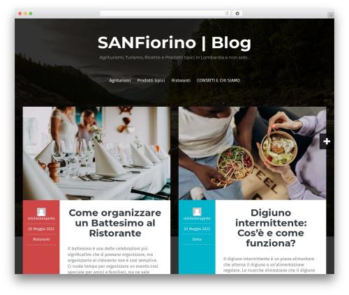 Fara best free WordPress theme - sanfiorino.it