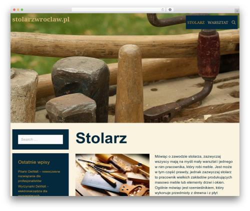 Template WordPress Ochiba - stolarzwroclaw.pl