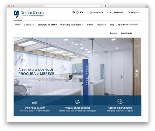 Theme WordPress Lenscap - simonecarrara.com.br