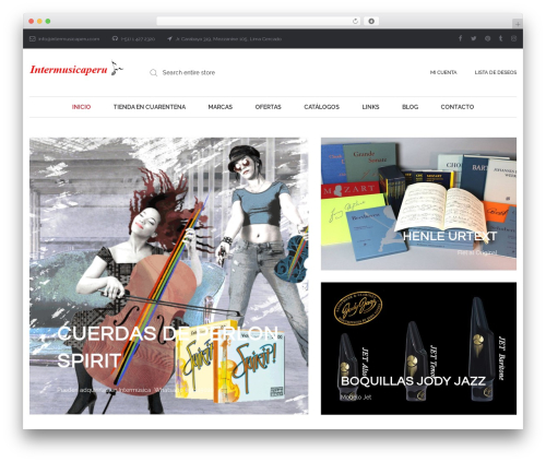 Theme WordPress Oasis - intermusicaperu.com