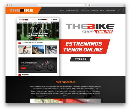 WordPress template Movedo - thebike.es