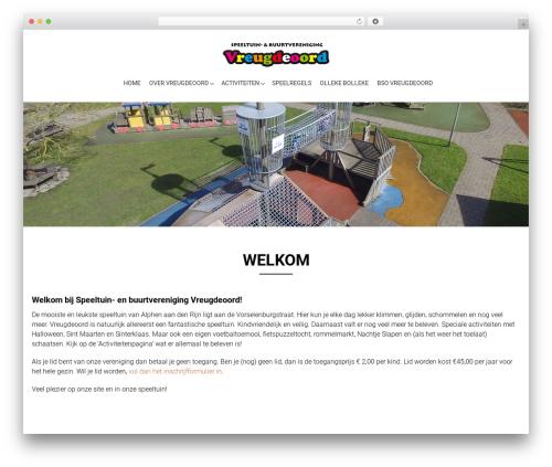 AccessPress Parallax WordPress page template - vreugdeoord.nl