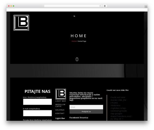 Narcos WordPress theme - lightbar.rs