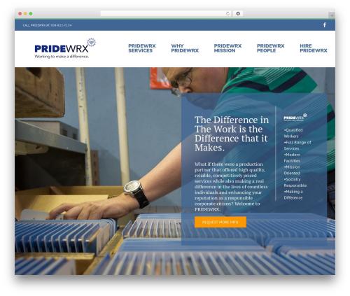 WordPress theme Avada - pridewrx.com