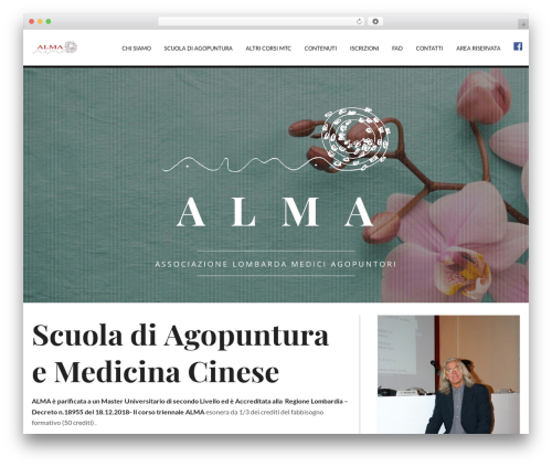 Jupiter WordPress theme - agopuntura-alma.it