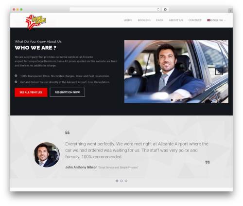 Template WordPress RentIt - autoalicante.com