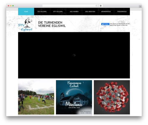 Theme 1274 theme WordPress - stvegliswil.ch
