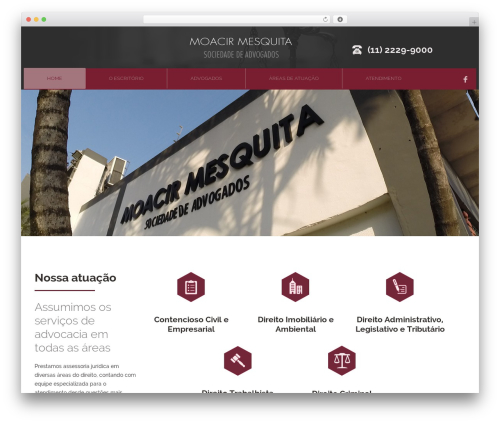 Theme WordPress Attorney - moacirmesquita.com.br