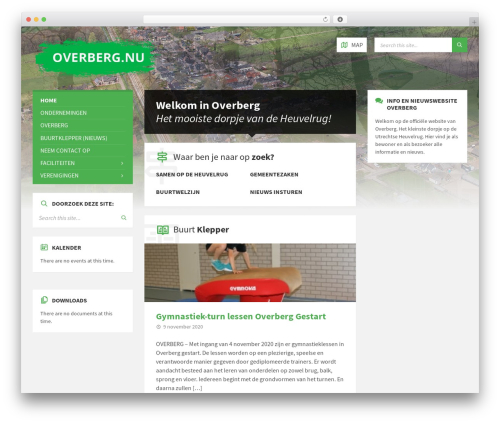 TownPress WordPress theme design - overberg.nu