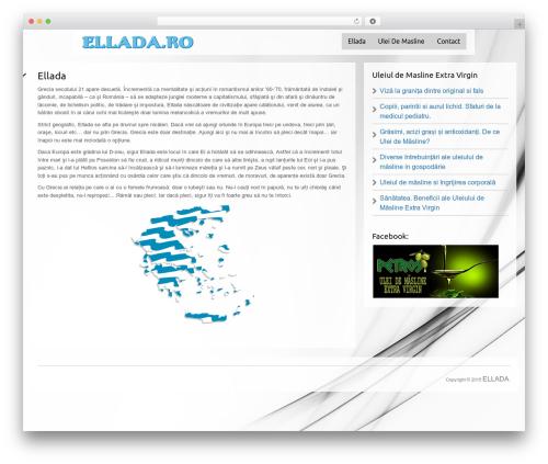 WordPress theme Black Label - ellada.ro