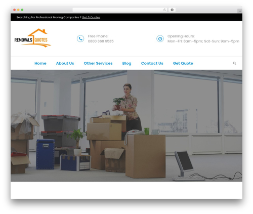 WP theme FastMoving - houseremovalquotes.com