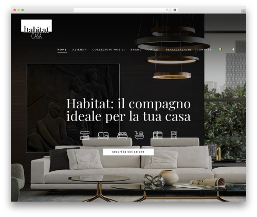 WordPress theme Salient - habitat-casa.com