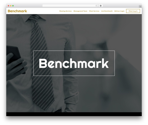 Benchmark theme WordPress - benchmarkinvestments.com