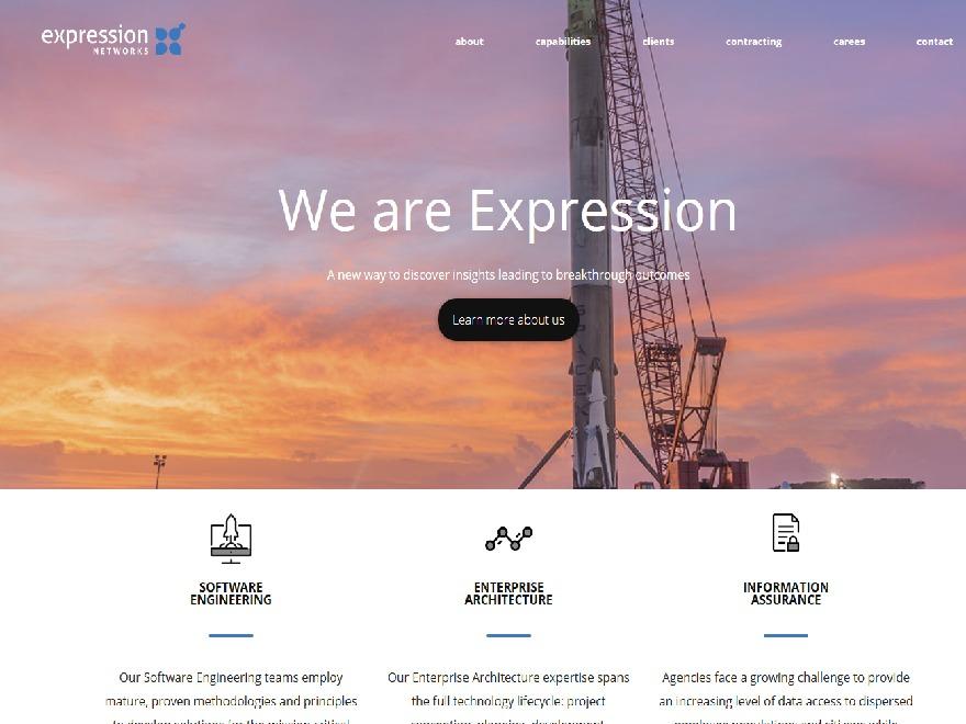 WordPress template ExpressionNetworks_LLC