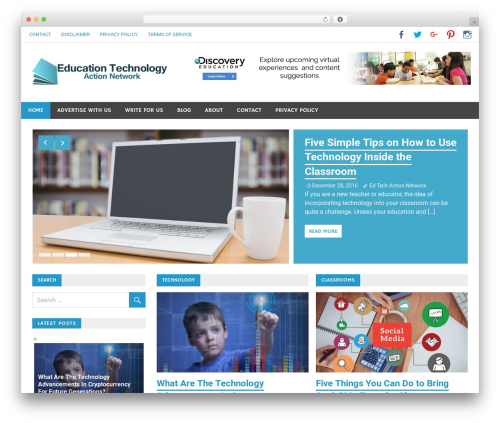WordPress theme Merlin - edtechactionnetwork.org