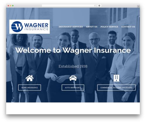 BrightFire Stellar premium WordPress theme - wagnerins.com