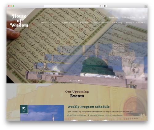 Free WordPress Simple Hijri Calendar plugin - dar-ul-hikmah.org