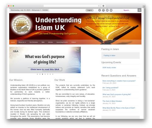 Free WordPress Simple Hijri Calendar plugin - uiuk.org