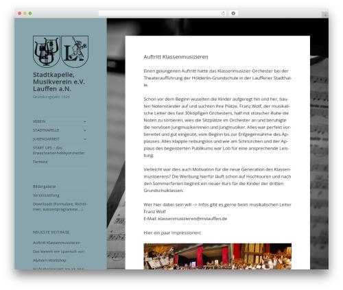 Free WordPress Subpagelister plugin - mvlauffen.de